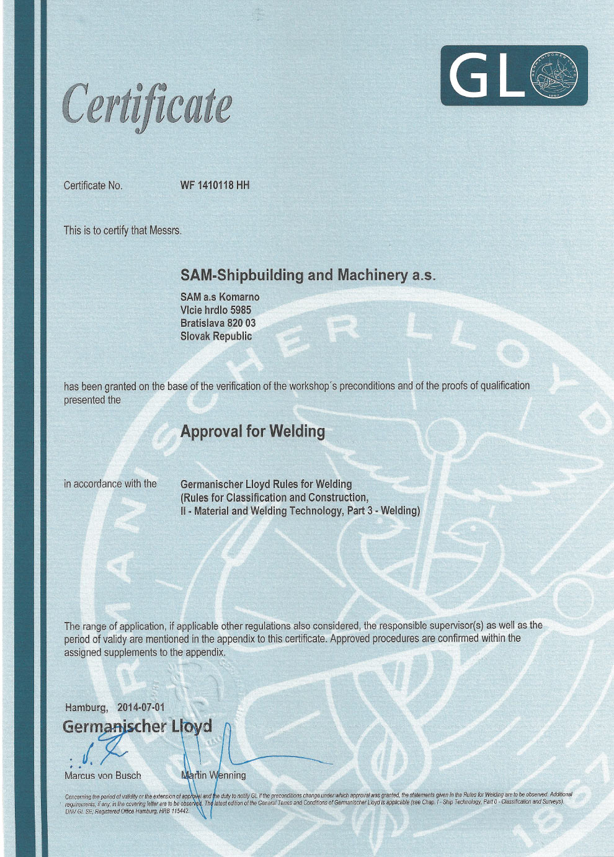 Germanischer Lloyd – Welding | Drupal